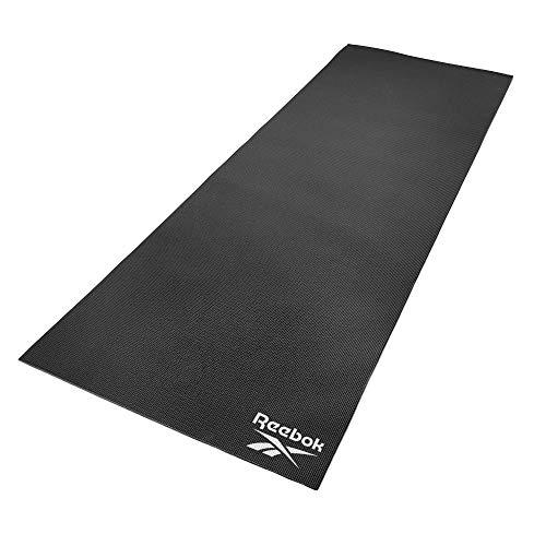 Reebok Yoga Matte, 4 mm, schwarz