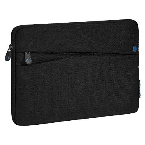 Pedea Tablet PC Tasche Fashion für 10,1-11 Zoll (25,6-27,96 cm) Schutzhülle Etui Hülle mit Zubehörfach, schwarz/blau