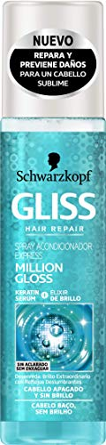 Gliss - Acondicionador Express Million Gloss - 3 uds de 200ml - Schwarzkopf