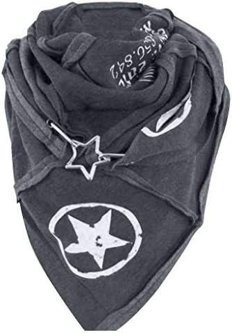 Grote sjaal van 154 x 53 cm met stergespknopen modieuze plaid deken wintersjaal lange sjaal warm plaid sjaal cap