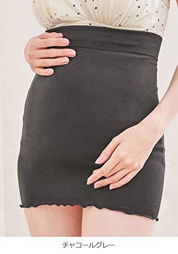 犬印本舗マタニティインナー産前産後使えるふんわり裏起毛腹巻き肌着妊婦M~Lブラック24639102