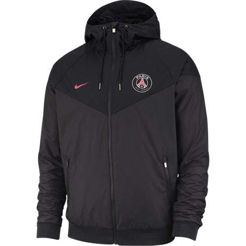 Nike Herren PSG M NSW WR WVN AUT Jacket, Anthracite/Black/Hyper pink, M