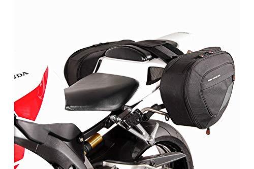 SW-MOTECH BLAZE H Satteltaschen-Set, Schwarz/Grau für Honda CBR1000RR Fireblade (04-07)
