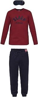 Bleep Conjunto de Pijama para niño en algodón orgánico e Antifaz