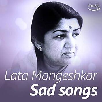 Lata Mangeshkar Sad Songs (Hindi)