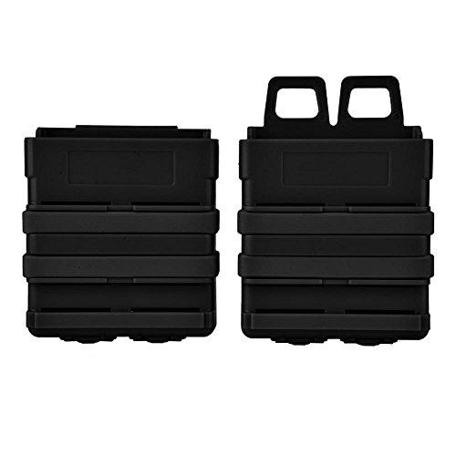 Fdit Clipmagazintasche nerf Magazin Tasche Halter Quick Pull Box für Nerf N-Strike Elite Blaster (Schwarz)