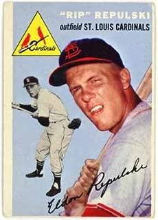 Rip Repulski - St. Louis Cardinals (1954 Topps Baseball Card) #115