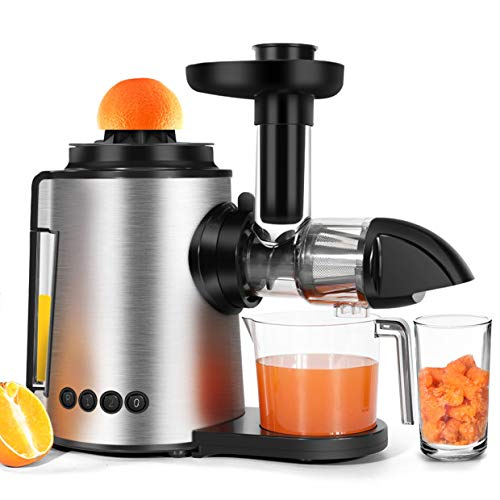 Slow Masticating Juicer Sagnart Juicer machine Easy to Clean