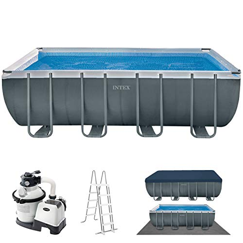 18Ft X 9Ft X 52In Ultra Xtr Rectangular Pool Set