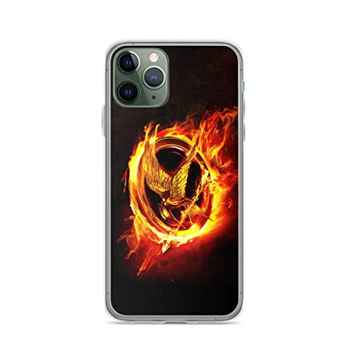 Phone Case The Hunger Games Mockingjay Part 2 2015 Movie Poster Illustration Case with Slim for iPhone 12 11 X Xs Xr 8 7 6 6s Plus Pro Max Samsung Cover