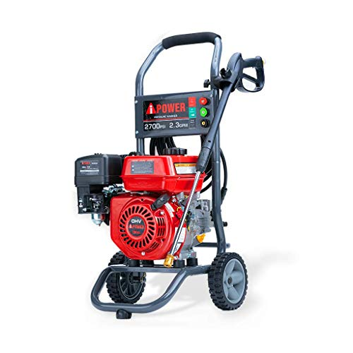 A-iPower APW2700C 7HP High Pressure Washer 2700 PSI 2.3 GPM CARB Complied Gas Powered