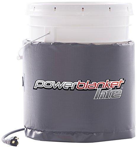 Powerblanket Lite PBL05 5-Gallon Insulated Pail Heater - Bucket Heater (5 Gallon / 19 Liter)