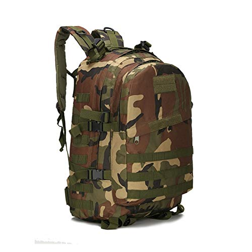 Backpack Bag Men Outdoor Rucksack Camping Backpack Hiking Sports Molle Pack Climbing Bags (Color : Green, Size : 30L)
