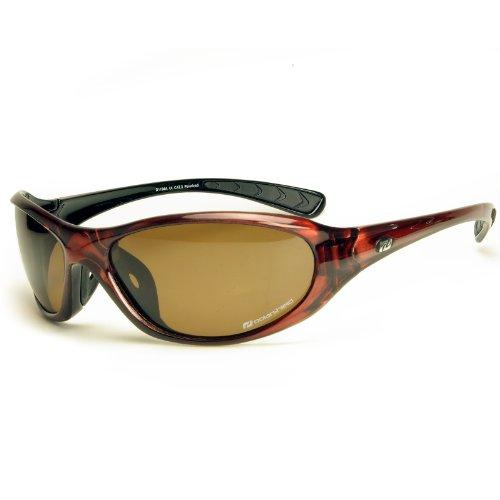 Daisan Daisan polarisierende Sonnenbrille Sportbrille - braun
