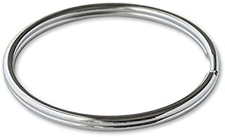 """Lucky Line 3"""" Nickel Plated Split Ring; 25 per Box (79100)"""
