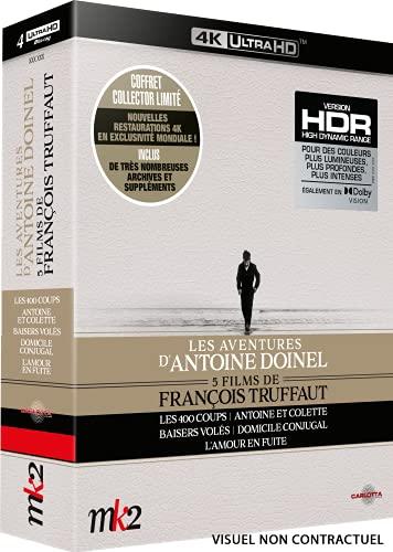 François Truffaut-Les Aventures d'Antoine Doinel [4K Ultra HD]