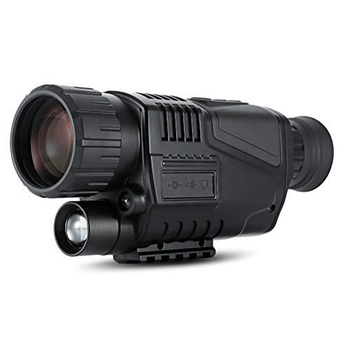 Chasse numérique infrarouge de vision nocturne Monoculaires Caméra 200M Gamme de chasse de vision nocturne monoculaire Optique Portée Zoom numérique 8X (carte SD compris de)