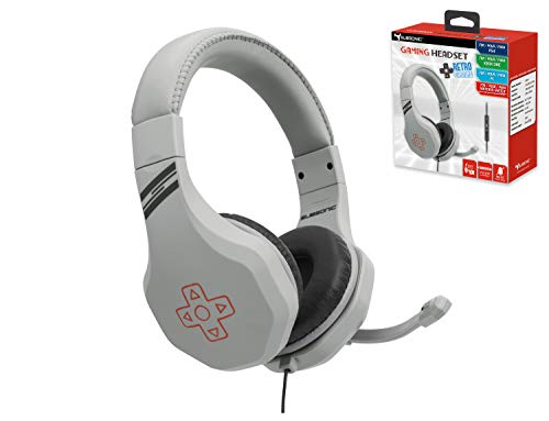 Subsonic - Casque Gamer avec micro pour Playstation 4 - PS4 Slim - PS4 Pro - Xbox One - PC - Nintendo Switch - Edition accessoire retro gaming