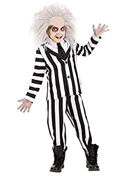 Beetlejuice Costume for Kids Official Beetlejuice Suit Child Outfit Medium