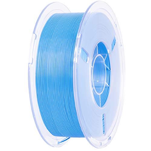 VOMI PLA+ Filament 1.75mm Blue, 1kg (2.2 LBS)   Vacuum Packaging   Tolerance Accuracy +/- 0.02 mm, PLA Plus 3D Printing Filament Materials for 3D Printers, 3D Pens