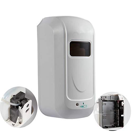 Automatische zeepdispenser, 1000 ml, AC DC, wandmontage, met sensor, contactloos, automatisch, zeepdispenser Dc et Vc