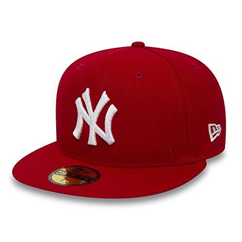 New Era 59Fifty Cap mit UD Bandana New York Yankees Red/White #2844-6 7/8 -