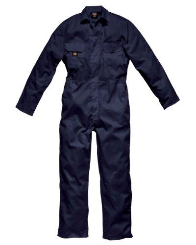 Dickies Redhawk - Mono con tachuelas, color azul marino, talla L