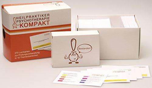Heilpraktiker Psychotherapie Kompakt: Lernkarten für die Prüfung zum Kleinen Heilpraktiker