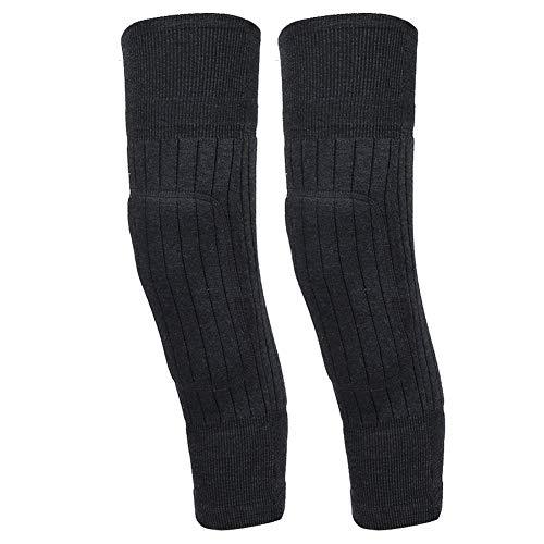 Ruiqas Rodilleras deportivas para gimnasio, suaves, elásticas y cómodas, para el calor de invierno o al aire libre, ciclismo, baile, yoga, deportes al aire libre
