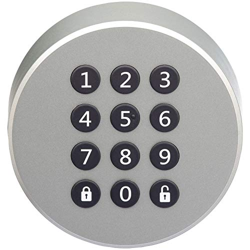 Danalock Danapad V3 Bluetooth PIN Keypad, Silver