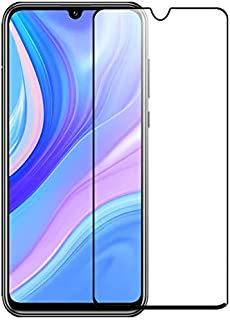 Tempered Glass For Huawei Y8p Full Glue Screen Protector - Black Frame (1 Pack)