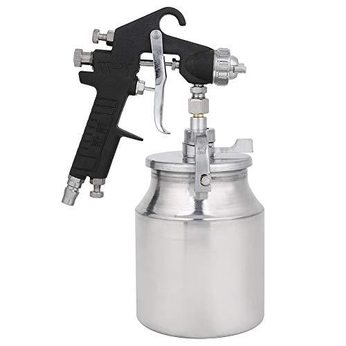 Pulverizador neumático de alta eficiencia Pistola de pulverización de aire de pintura superior Pistola de pulverización neumática para pintar con 1000 ml de gran capacidad