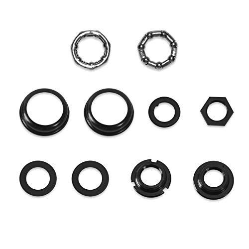 3 Pcs//Set 3 Size Included Bicycle Flywheel Hub Spacer 1mm+1.5mm+2mm Cycling Bottom Bracket Axle Washer Gasket VGEBY1 Bike Spacer