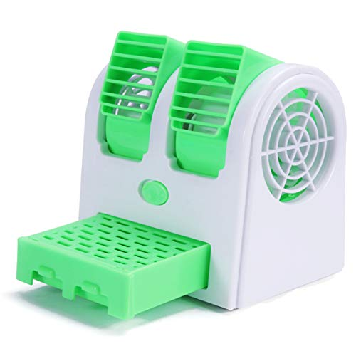 Parikshit Sublimation Portable USBBattery Operated Duel Blower Water Air Cooler with Ice Chamber (Multicolour)