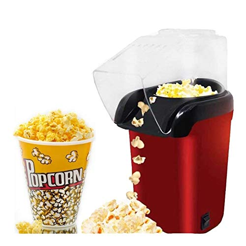 Purchase HJAZ Mini Household Electric Popcorn Maker Machine Automatic Red Corn Popper Natural Popcor...