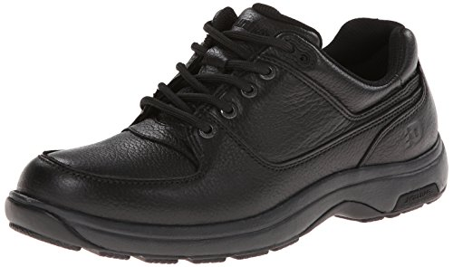 Dunham Men's Windsor Waterproof Oxford,Black,11 EEEE US