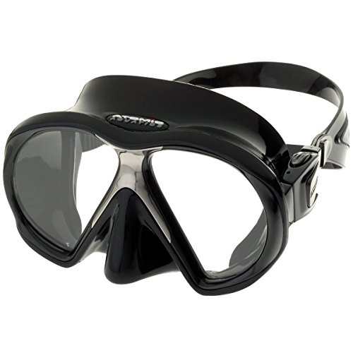 ATOMIC - SubFrame Black-Black Tauchmaske