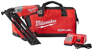 MILWAUKEE ELEC TOOL 2743-21CT 15-Gauge Angled Finish Nailer Kit