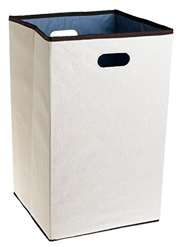Rubbermaid 4D06 Configurations 23-Inch Foldable Laundry Hamper, White
