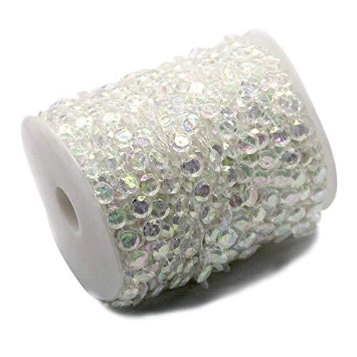 Ewparts 30M Branelli acrilici del diamante della ghirlanda di cristallo (Colored)