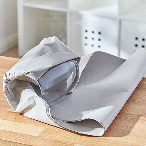 BB-Verpackungen Packseide, 5 kg, 50 x 75cm grau, Seidenpapier Polsterpapier Geschirrpapier Papckpapier - 3
