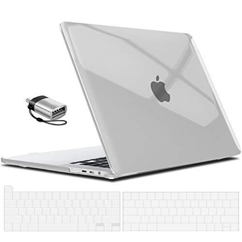 IBENZER MacBook Pro 13 Inch Case 2020 2019 2018 2017 2016 A2251 A2289 A2159 A1989 A1706 A1708, Hard Shell Case with Keyboard Cover & Type C Adapter...
