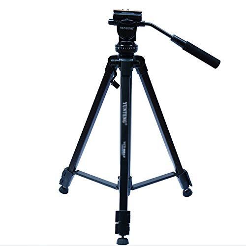 Draagbaar camerastatief, flexibel statief met in hoogte verstelbare poten buiten, van aluminium, compact monopod camerastatief, geschikt voor mobiele DSLR-camera's op reis en op kantoor.