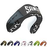 SAFEJAWZ Sport Protège-Dents Extro Séries. Protection intégrale pour Tous Les Sports, notamment Le Rugby, MMA, Hockey, Judo, Karate, Les Arts Martiaux et la Boxe (Sandee, Adulte (12+ Ans))