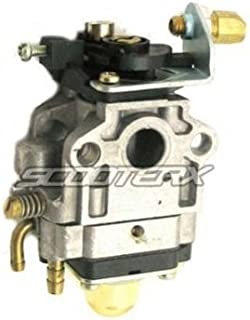 SCOOTERX 10mm Carburetor for 33cc and 36cc Gas Scooters, Pocket Bikes, Go Karts, and Mini Choppers, Go Ped [4206]