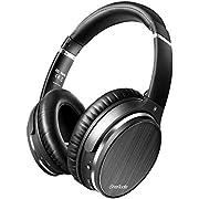 OneAudio Active Noise Cancelling Kopfhörer, Bluetooth Kopfhörer Over Ear, ANC Headset mit Mikro, Geräuschunterdrückende Headphone für PC Phone TV