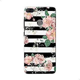 Back Cover Vintage Floral Roses For Xiaomi Mi 8 Lite - Multi Color