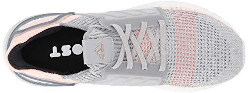 Adidas Ultraboost 19 pour Femme - Gris - Gris Transparent Orange True Orange, 38 EU