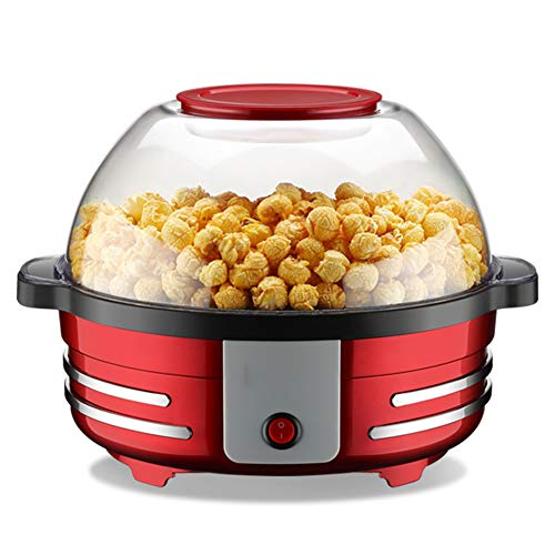 Find Cheap ZRXRY Popcorn Maker, 5L Automatic Hot Air Popcorn Making Machine with Barbecue Function a...
