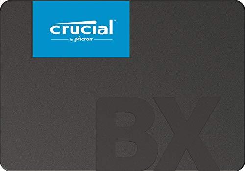 【Amazon.co.jp 限定】 Crucial SSD 120GB 7mm / 2.5インチ BX500シリーズ SATA3.0 3年保証 【PlayStation4 動作確認済】 正規代理店保証品 CT120BX500SSD1Z [FFP]